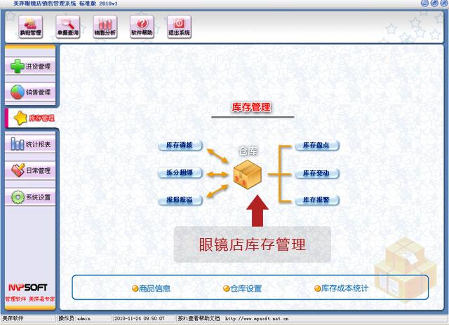 龙8娱乐平台眼镜店库存管理软件