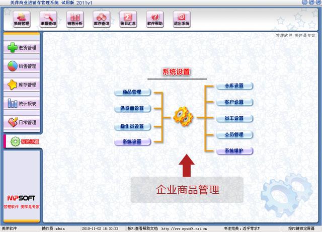 美萍企业商品管理软件