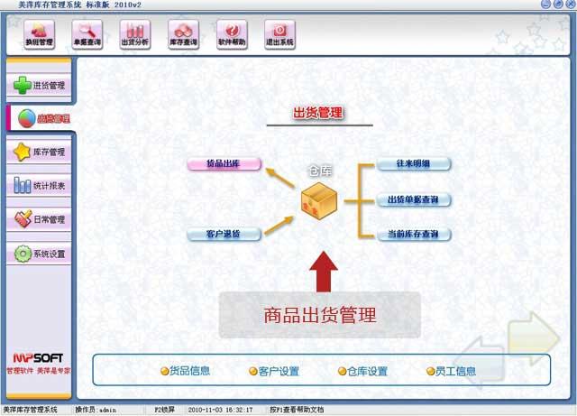 龙8娱乐平台商品出货管理软件