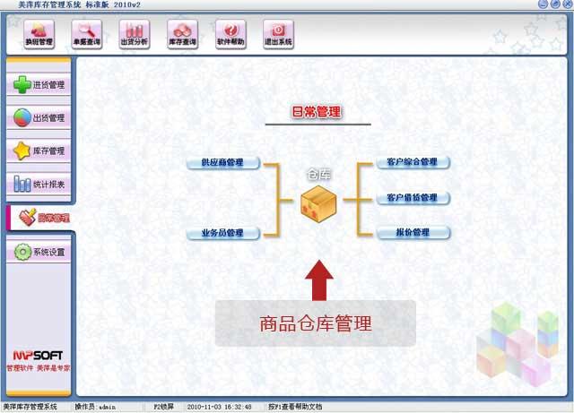 龙8娱乐平台商品仓库管理软件