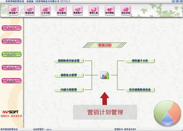 美萍营销计划管理软件