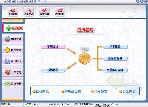 美萍医药管理软件
